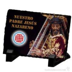 Arte: PIZARRA 15X20 DE NUESTRO PADRE JESÚS NAZARENO DE SEVILLA. Lote 58094074