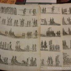 Arte: LOTE DE 3 GRABADOS RELICIOSOS - IMPRENTA ESTIVILL - PORTAL DEL COL·LECCIONISTA***. Lote 58185512