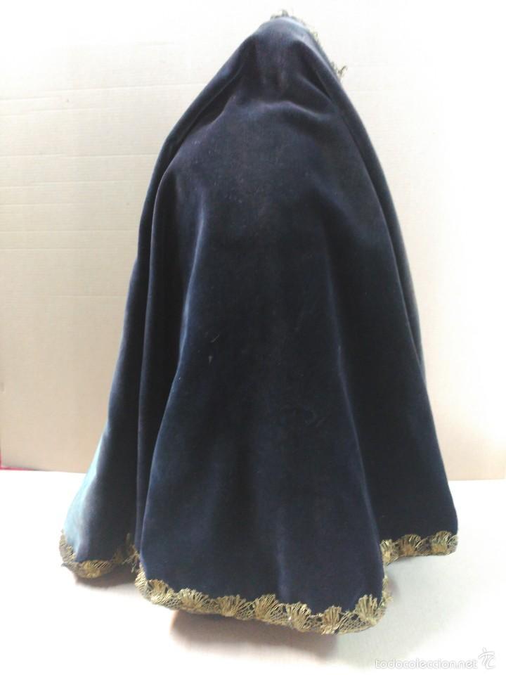Arte: Virgen Dolorosa, vestidera talla en madera, siglo XIX, con ropa de la epoca - Foto 18 - 58203081