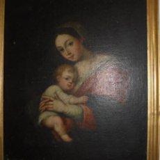 Arte: LA VIRGEN Y EL NIÑO.SXVII.. Lote 58211207