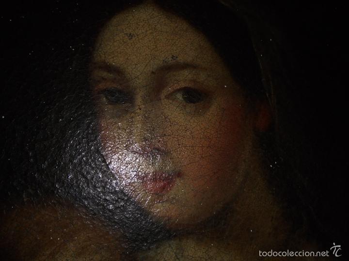 Arte: La Virgen y el niño.SXVII. - Foto 3 - 58211207