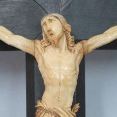Art - ANTIGUO Y PRECIOSO CRISTO DE MARFIL. SIGLO XIX - 58240423