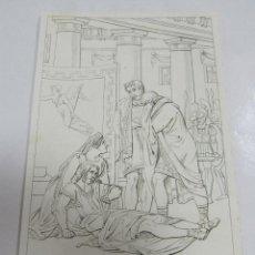 Arte: ANTIGUO GRABADO. 1822. PERFECTO ESTADO. GRABADO DE TIMOLEONE. 10.5 X 17CM. Lote 58255275