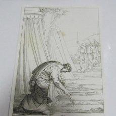 Arte: ANTIGUO GRABADO. 1822. PERFECTO ESTADO. GRABADO DE SAUL. 10.5 X 17CM. Lote 58255345