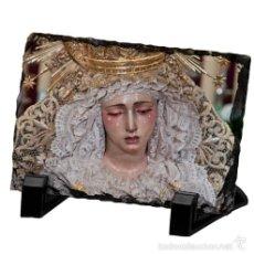 Arte: REPRODUCCIÓN EN PIZARRA 15X20 DE NTRA. SRA. DE LA ESPERANZA DE LA TRINIDAD (SEVILLA). Lote 58294004
