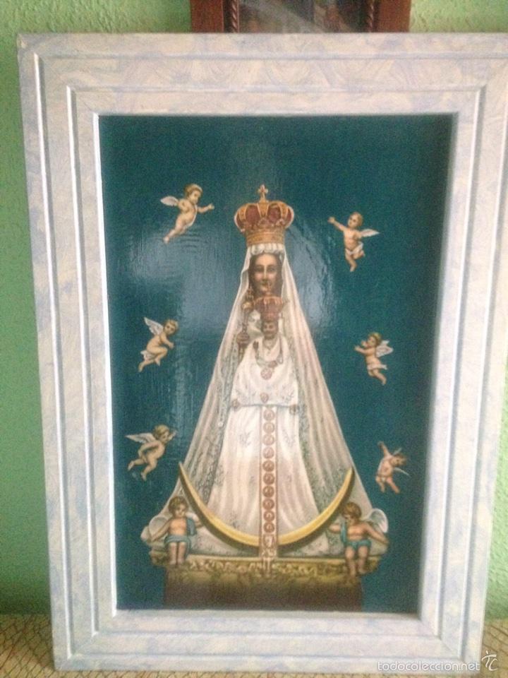 CUADRO VIRGEN DE BEGOÑA ANTIGUO (Arte - Arte Religioso - Pintura Religiosa - Otros)