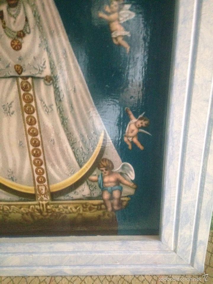 Arte: Cuadro virgen de Begoña antiguo - Foto 3 - 58321231
