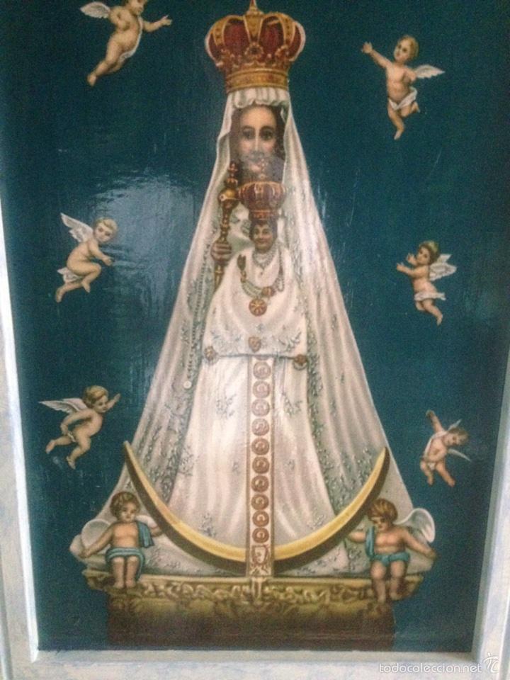 Arte: Cuadro virgen de Begoña antiguo - Foto 5 - 58321231