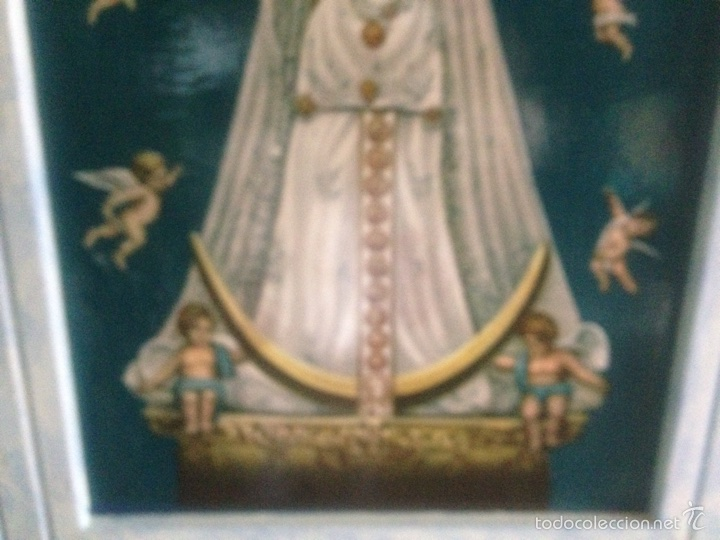 Arte: Cuadro virgen de Begoña antiguo - Foto 8 - 58321231