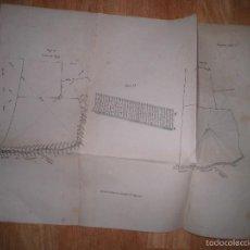 Arte: J. PALACIOS LITOGRAFIA PLANO C.-, ARENAL 27 MADRID CIRCA APROXIMADAMENTE 1927. Lote 58433575