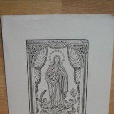 Arte: LA PURISIMA CONCEPCION. Lote 58505896
