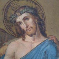 Arte: CRISTO ES DESPOJADO DE SUS VESTIDURAS / ÓLEO SOBRE LIENZO / S. XIX . Lote 58644456