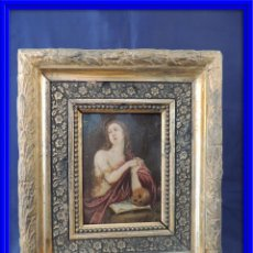 Arte: MAGNIFICO COBRE DE MARIA MAGDALENA SIGLO XVII. Lote 59482943