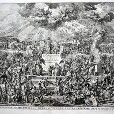 Arte: 1729 - IMAGENES DEL ANTIGUO Y NUEVO TESTAMENTO - BIBLIA - LUYKEN - ENGRAVING - GRAVURE. Lote 60370515