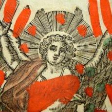 Arte: I1-027. GABRIEL ARCÁNGEL. GRABADO. TORRES GRABADOR. DOMINGO MOMPIE. VALENCIA. XVII-XVIII. Lote 59514415