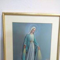 Arte: LA MILAGROSA LÀMINA ENMARCADA. Lote 61545280