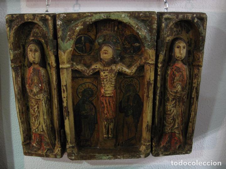Arte: Tríptico Europeo S. XIX - Foto 2 - 62059632