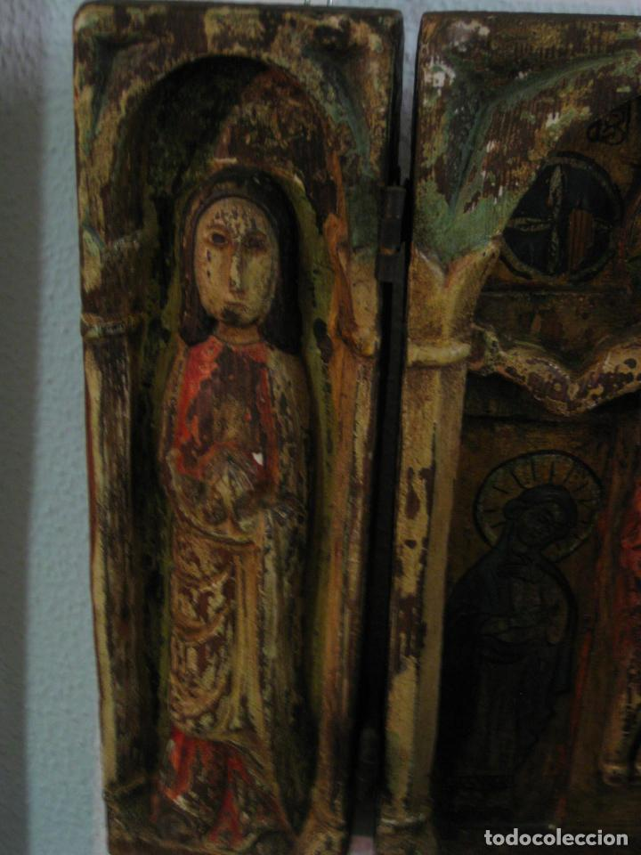 Arte: Tríptico Europeo S. XIX - Foto 3 - 62059632