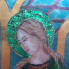 Arte: ESMALTE RELIGIOSO FIRMADO Y FECHADO. Lote 63097280