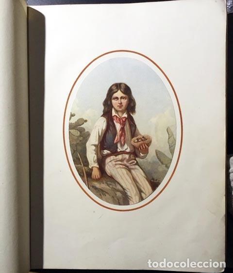 Arte: Aquarelles... d´après Delacroix, Jules David, Hubert et Lepoitevin (c 1860) 10 facsímiles litografía - Foto 2 - 63432048