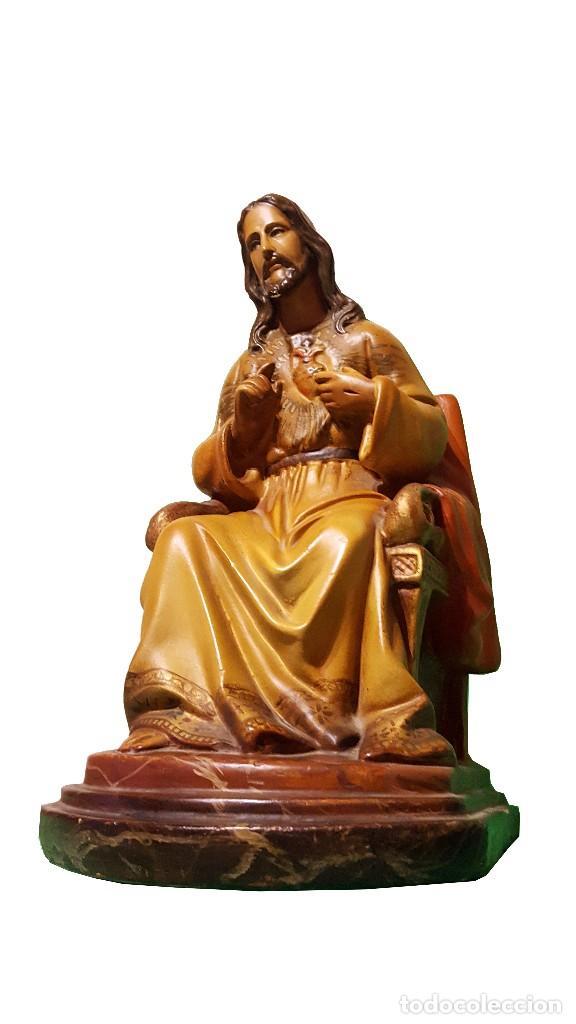 SAGRADO CORAZÓN (Arte - Arte Religioso - Escultura)