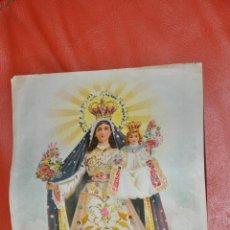 Arte: VIRGEN DE MAYO , LITOGRAFIA POSIBLEMENTE DE RAFAEL ALCALÁ , MÁLAGA . Lote 63527296