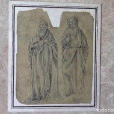 Arte: MUY ANTIGUA ESCENA RELIGIOSA. Lote 63638979