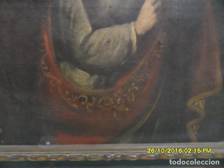 Arte: SIGLO XVII BONITO CUADRO RELIGIOSO DE UNA SANTA. - Foto 6 - 63769587
