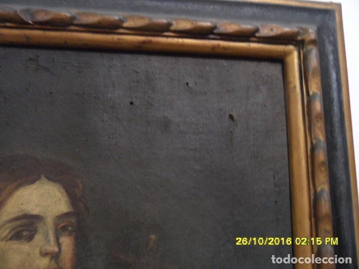Arte: SIGLO XVII BONITO CUADRO RELIGIOSO DE UNA SANTA. - Foto 8 - 63769587
