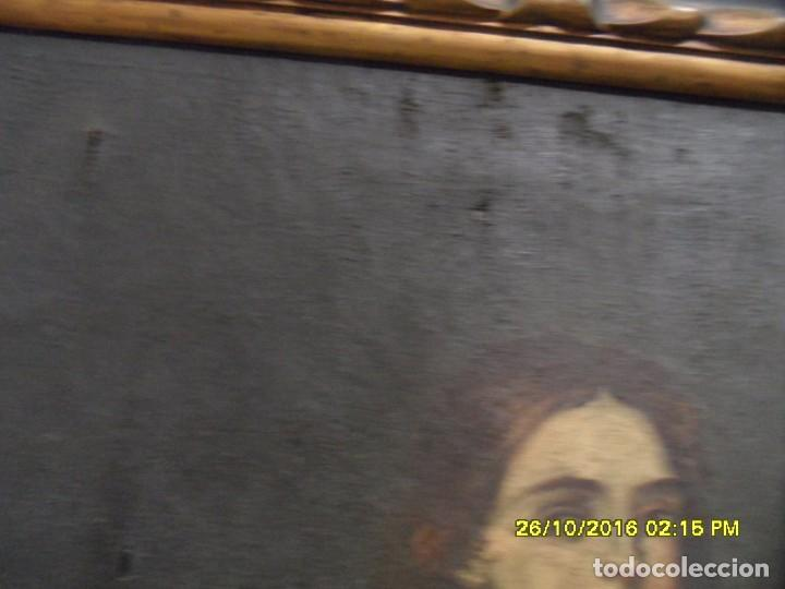 Arte: SIGLO XVII BONITO CUADRO RELIGIOSO DE UNA SANTA. - Foto 9 - 63769587