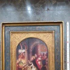 Arte: ICONO RELIGIOSO. F. RUIZ VERNACCI. SANTO DOMINGO RESUCITA A UN NIÑO. Lote 64115451