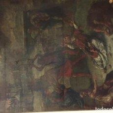 Arte: CUADRO RELIGIOSO SAN ESTEBAN S XVI. Lote 64642211
