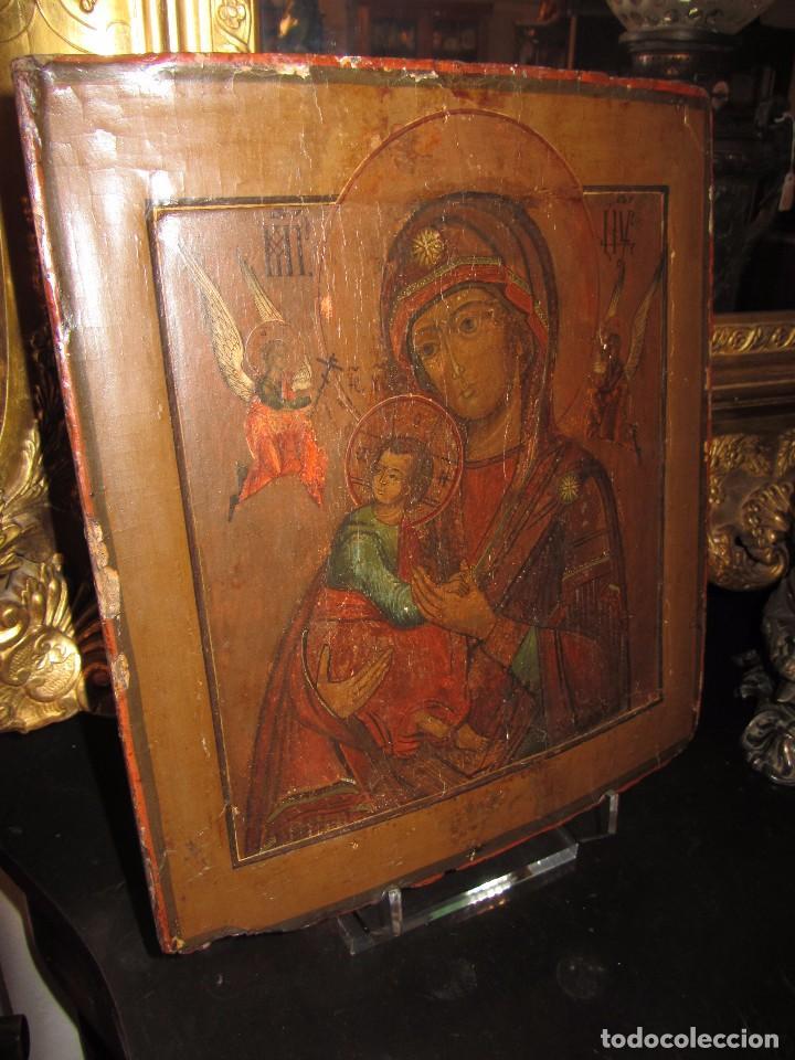 ICONO RUSO - SIGLO XIX - (Arte - Arte Religioso - Iconos)