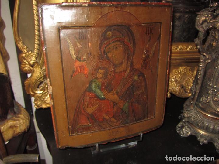 Arte: Icono Ruso - Siglo XIX - - Foto 2 - 65664722