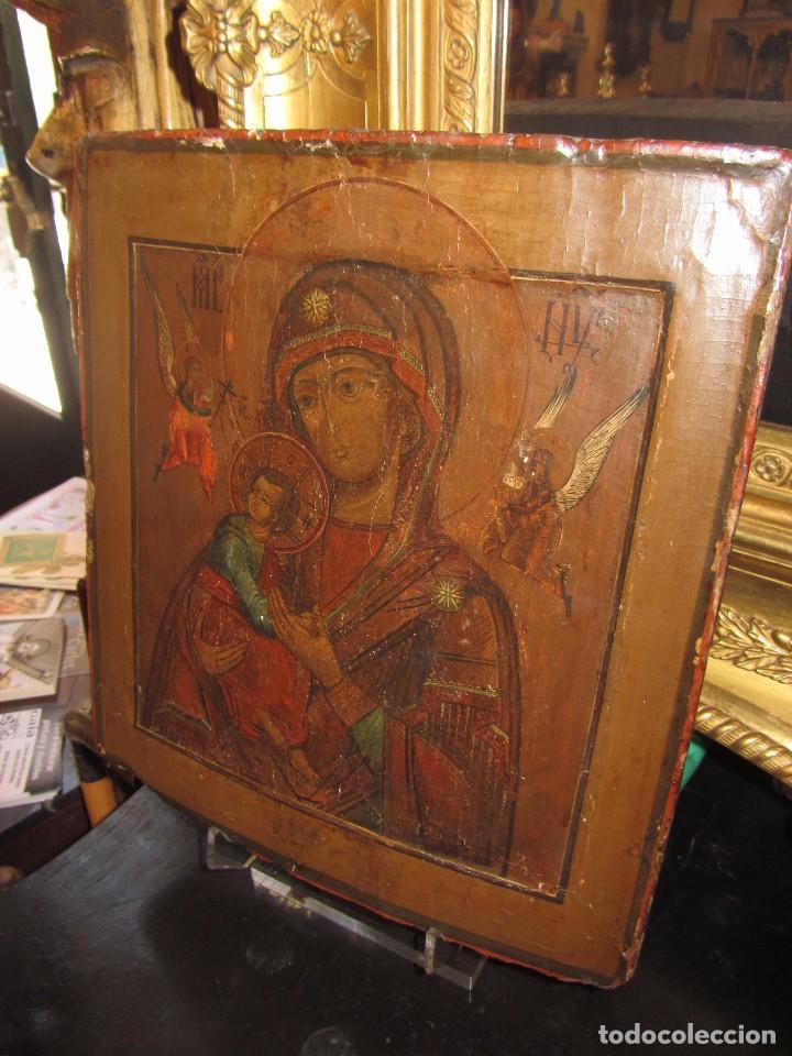 Arte: Icono Ruso - Siglo XIX - - Foto 3 - 65664722