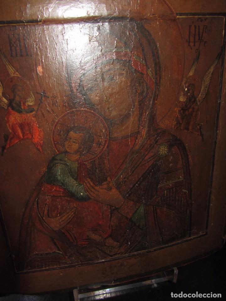 Arte: Icono Ruso - Siglo XIX - - Foto 4 - 65664722