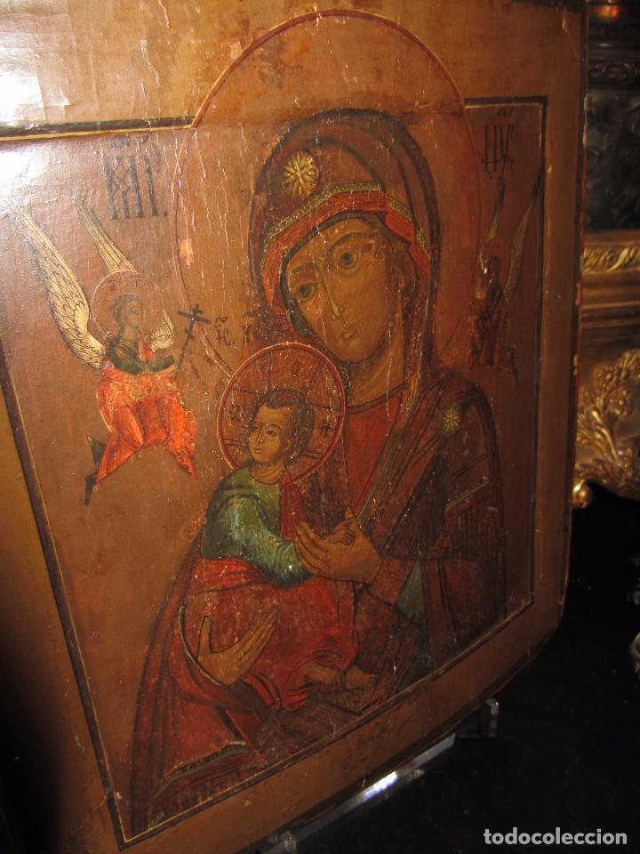 Arte: Icono Ruso - Siglo XIX - - Foto 5 - 65664722