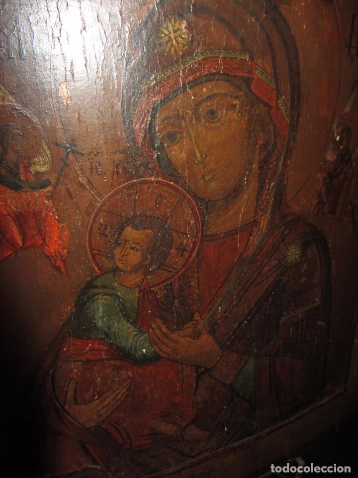 Arte: Icono Ruso - Siglo XIX - - Foto 9 - 65664722