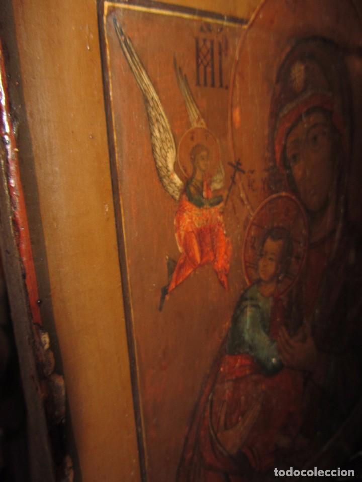 Arte: Icono Ruso - Siglo XIX - - Foto 11 - 65664722