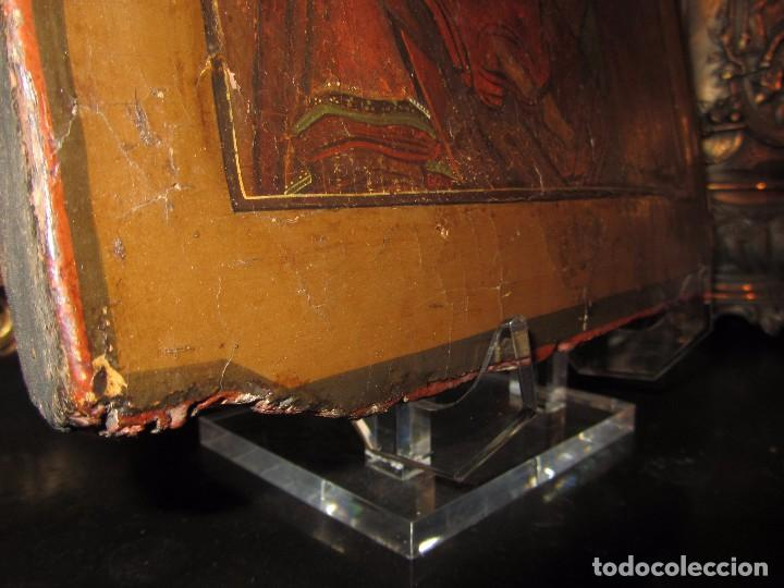 Arte: Icono Ruso - Siglo XIX - - Foto 13 - 65664722