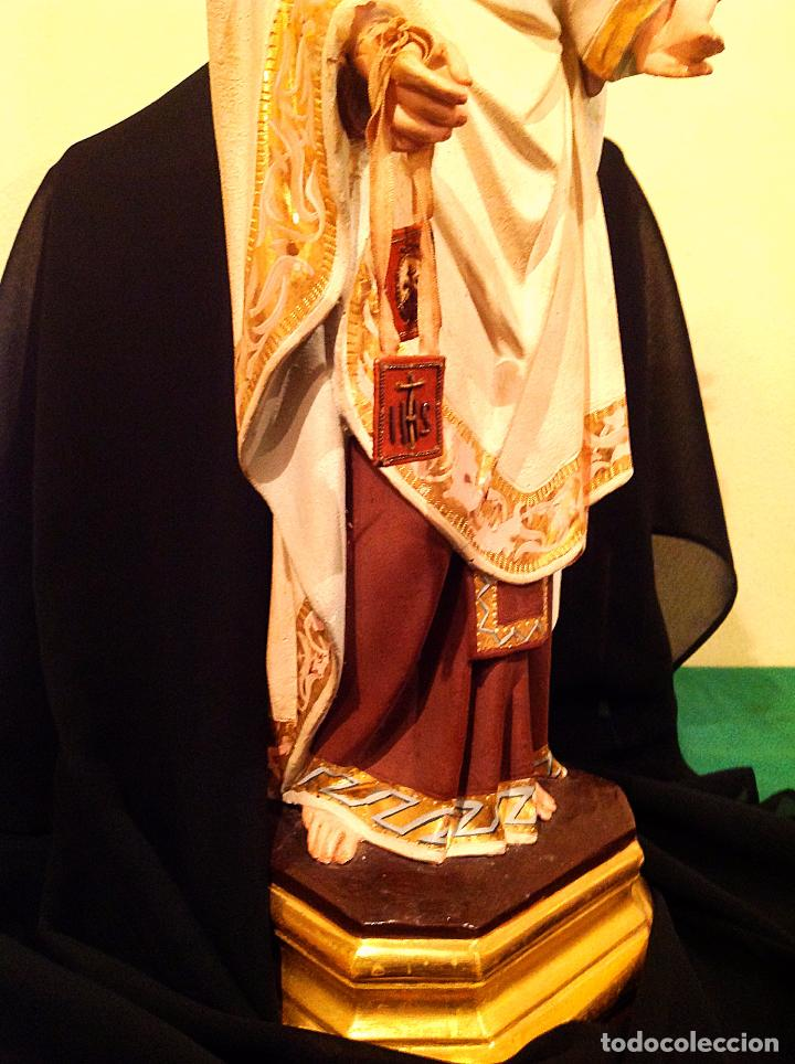 Arte: Antigua Virgen Del Carmen Con Niño XIX Altura 50cm - Foto 6 - 65666646