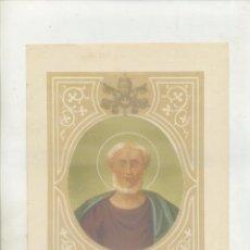 Arte: CROMOLITOGRAFIA DE PAPAS. S. DAMASO I. G-REL-008. Lote 66307834