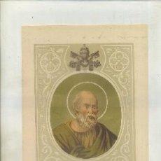 Art: CROMOLITOGRAFIA DE PAPAS. S. FELIX LLL G-REL-093. Lote 66819434