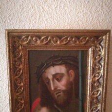 Arte: ECCE HOMO. OLEO SOBRE COBRE, SIGLO XVII.. Lote 66838765