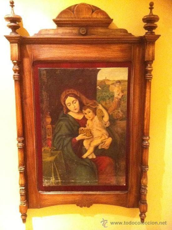 OLEO DE LA VIRGEN DE LAS VIÑAS (Arte - Arte Religioso - Pintura Religiosa - Oleo)