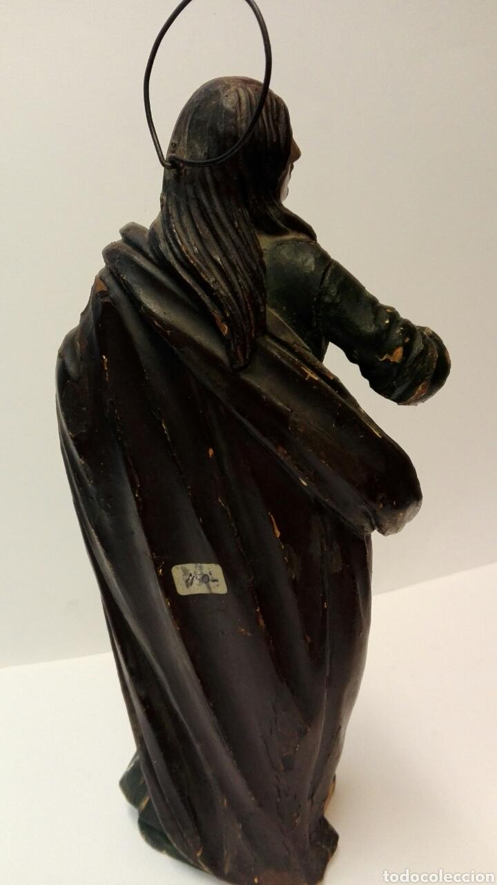 Arte: Talla de la Virgen María del siglo XVIII tal cual. - Foto 4 - 67915550