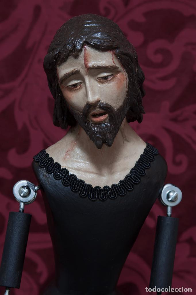 CRISTO DE CANDELERO DE 60 CTM DE ALTURA (Arte - Arte Religioso - Escultura)