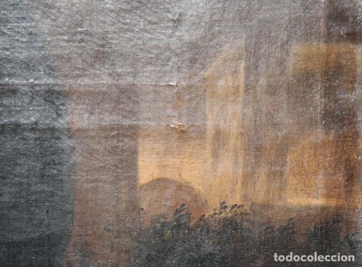 Arte: F3-028. VIRGEN DE LA DOLOROSA. ESCUELA ESPAÑOLA. OLEO SOBRE LIENZO. SIGLO XVII. - Foto 3 - 50187135