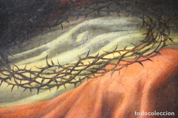 Arte: F3-028. VIRGEN DE LA DOLOROSA. ESCUELA ESPAÑOLA. OLEO SOBRE LIENZO. SIGLO XVII. - Foto 5 - 50187135