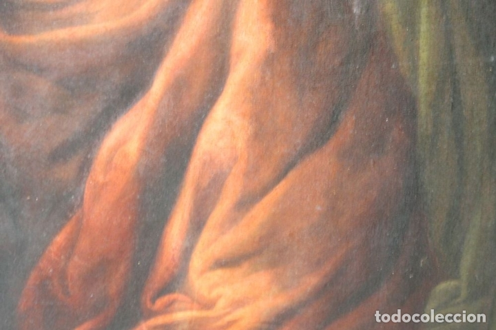 Arte: F3-028. VIRGEN DE LA DOLOROSA. ESCUELA ESPAÑOLA. OLEO SOBRE LIENZO. SIGLO XVII. - Foto 19 - 50187135